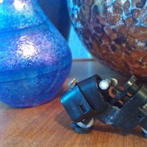 I made a mini lighter motorcycle hehe