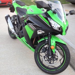 Meet Karly, Karly the Kawasaki ;)