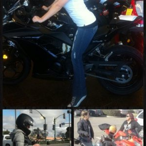 The Day I picked out my bike! <3