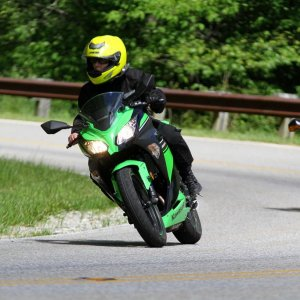 Riding the Cherohala from Telico Plains, TN to Robbinsville, NC. Then over to the Dragon. 6/1/2013
