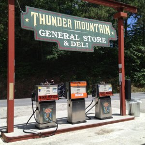 Thunder Mountain. This stop is our break after the Cherohala before we go to The Dragon.