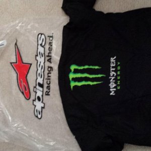 Alpinestars Bike Jacket Monster Energy!