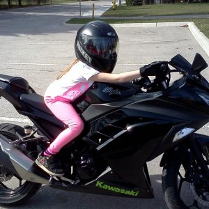Girls love bikes